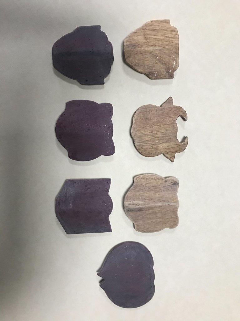 柯錦中漆線體驗木胎