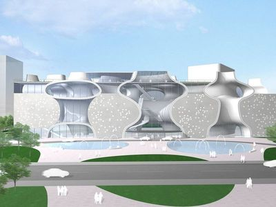 The National Taichung Opera House, one of the major cultural infrastructure projects in central Taiwan, is scheduled to open to the public on Nov. 23, 2014.
