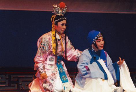廖瓊枝與呂雪鳳演出白兔記.井邊會