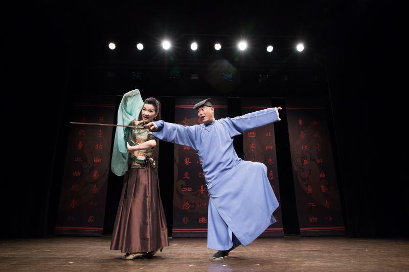 北曲的相聲演員功力扎實,角色雕塑生動。