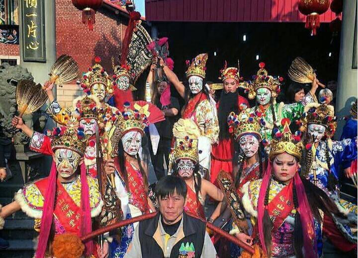 山海鎮刑堂參加中國大陸安溪的交流活動,將家將技藝推展至國外。