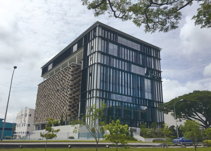 The New Headquarters Building of Select Group in Singapore