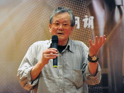 Huang Chun-ming, 79, is a short story writer and author of such classics as