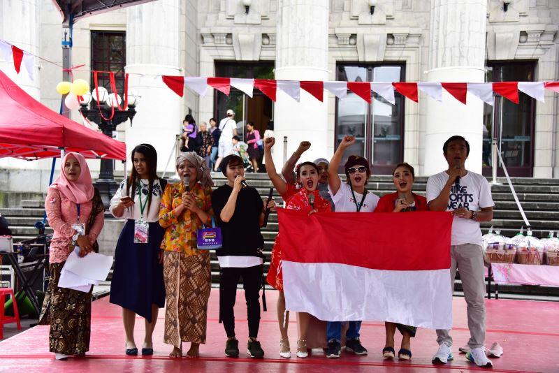 移工劇團Sanggar Tresno Budoyo演出流傳於東南亞諸國的民間傳說「馬林.昆當」