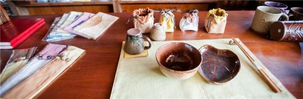 The association now receives orders from all over Taiwan for their ceramics and hand-dyed products.