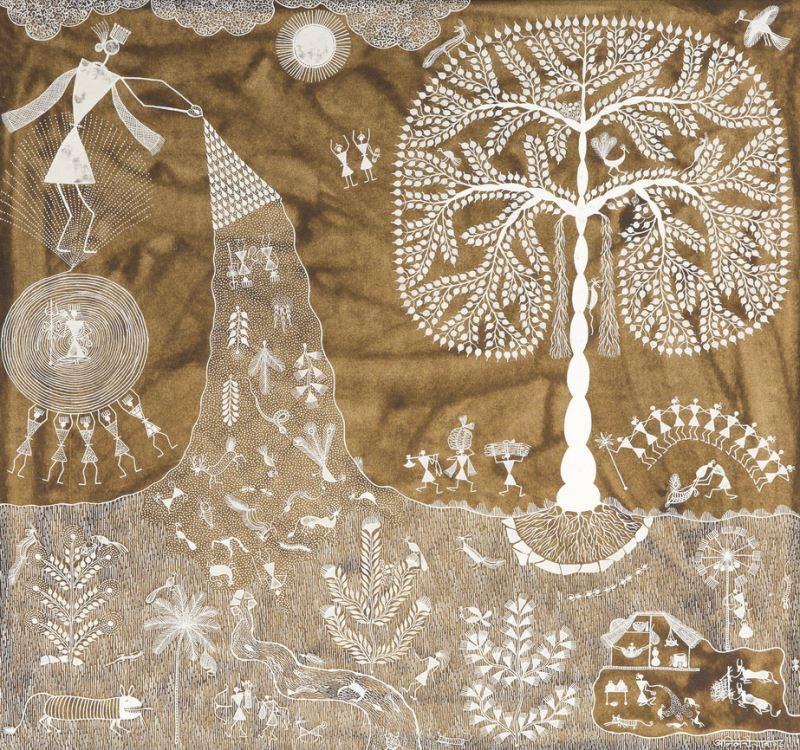印度瓦力族生命之樹
