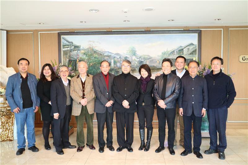 第三屆國際中樂指揮大賽評審委員及觀察員們合影
