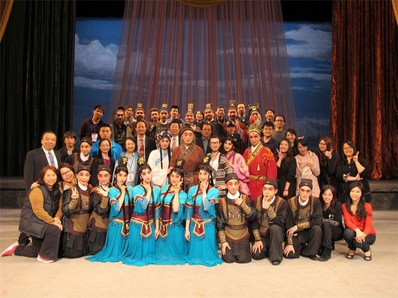 台北新劇團《弄臣》於溫州大劇院(2012)。