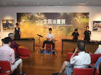 音樂浸潤_臺北市私立薇閣高級中學管弦樂團打擊重奏