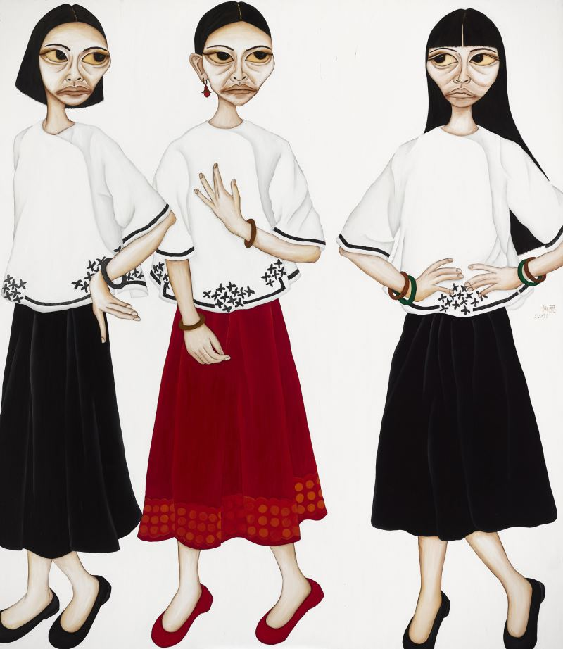 《大人馬戲樂園》展出藝術家柳依蘭〈資本主義的撞衫事件〉