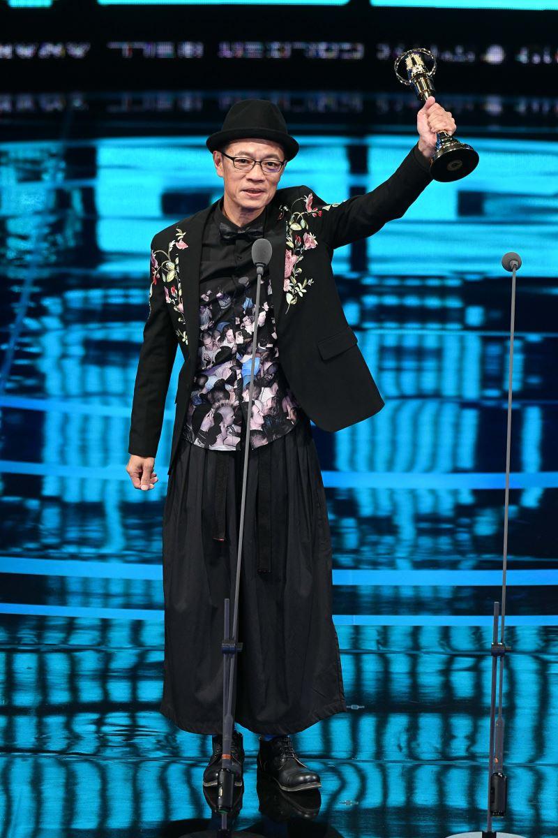 吳朋奉以公視人生劇展《第一響槍》榮獲第54屆電視金鐘獎迷你劇集(電視電影)男主角獎
