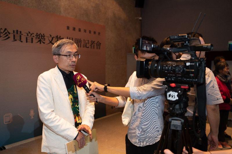 _國立傳統藝術中心主任陳濟民接受專訪