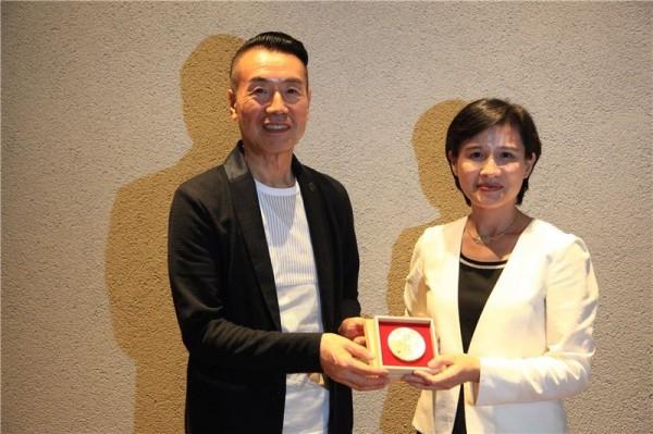 Yoshihisa Nakano (中野善壽), Warehouse Terrada CEO and an international advisor to the Ministry of Culture.