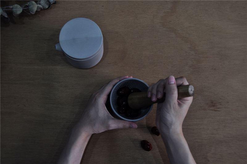 黑生起司_擂茶組