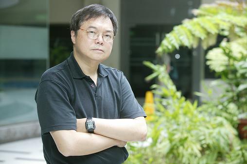 Photo of Zhang Xiguo (Chang Shi-Kuo) (Source: Wenhsun Magazine Press)