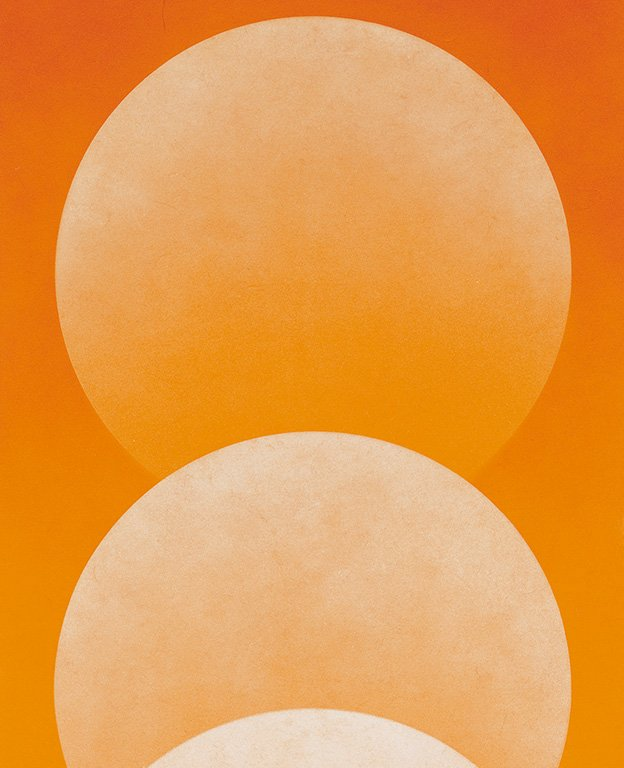 Liu Kuo-sung〈Impression: Sunset Ⅷ〉Detail