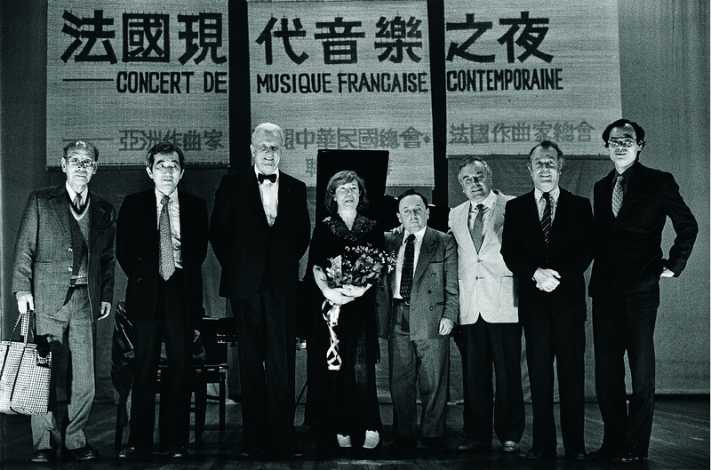 Taiwan-France music exchanges.