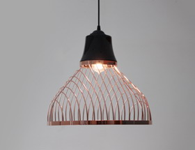 LINEUP Chandelier-40x40x35cm/ Iron, Ceramic