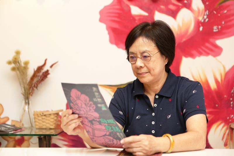 許春香投入臺灣元素舞蹈創作許久。