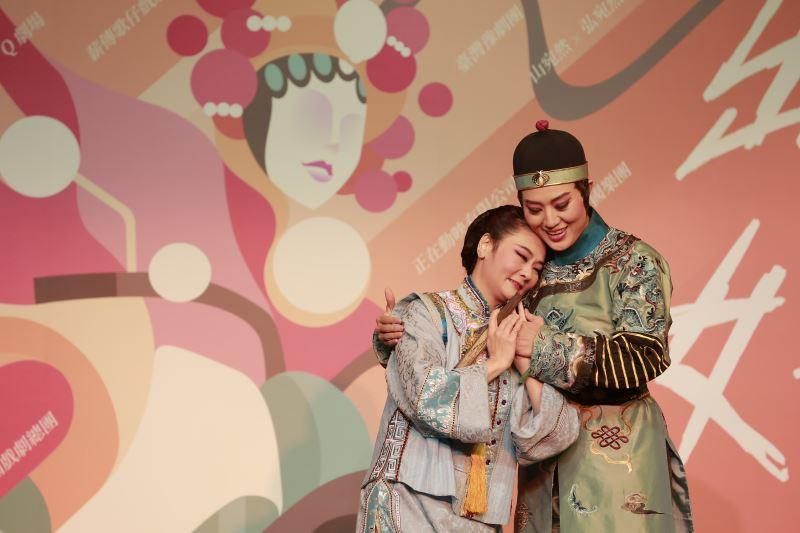 臺灣豫劇團蕭揚玲、劉建華演出經典大戲《慈禧與珍妃》