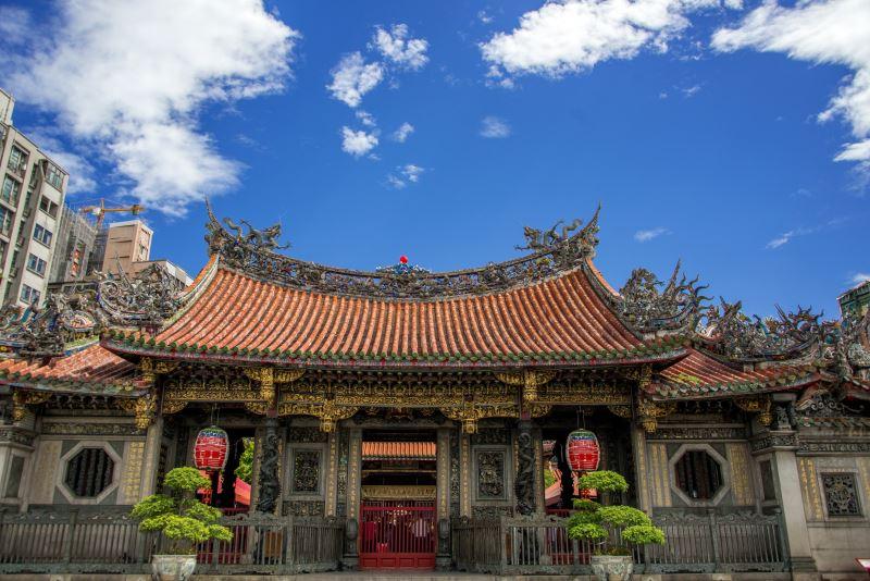 Le temple Longshan de Taipei.