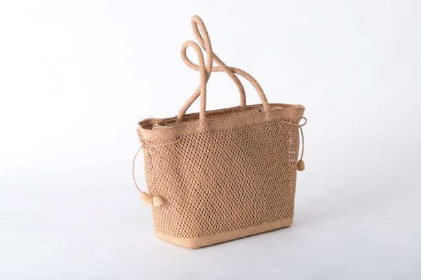 Bell Flower Tote - Triangle Rush