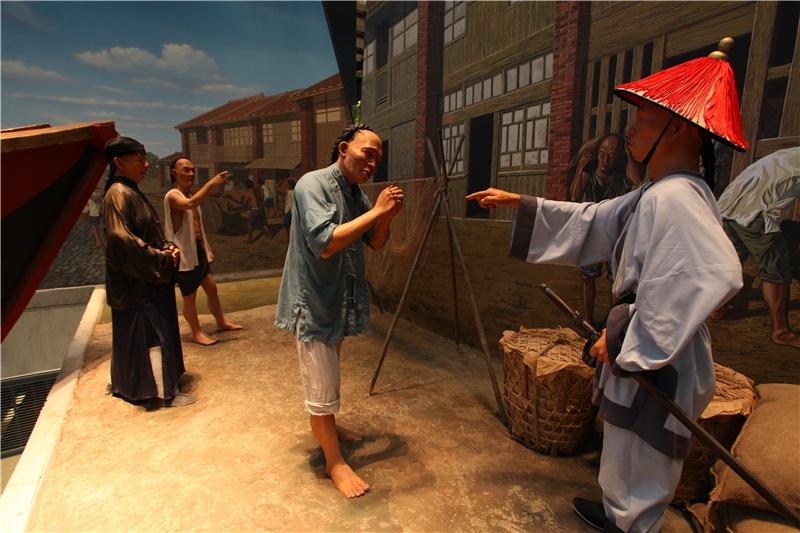 中国から台湾への移民