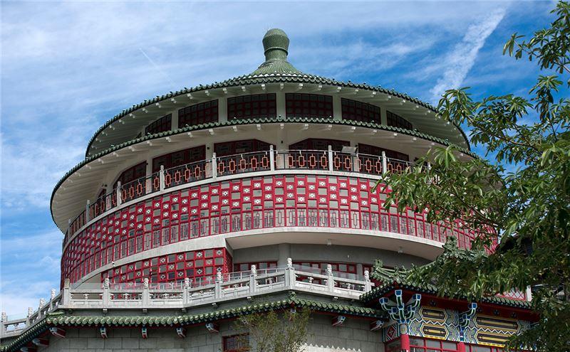 臺北分館外觀(仿北京天壇)