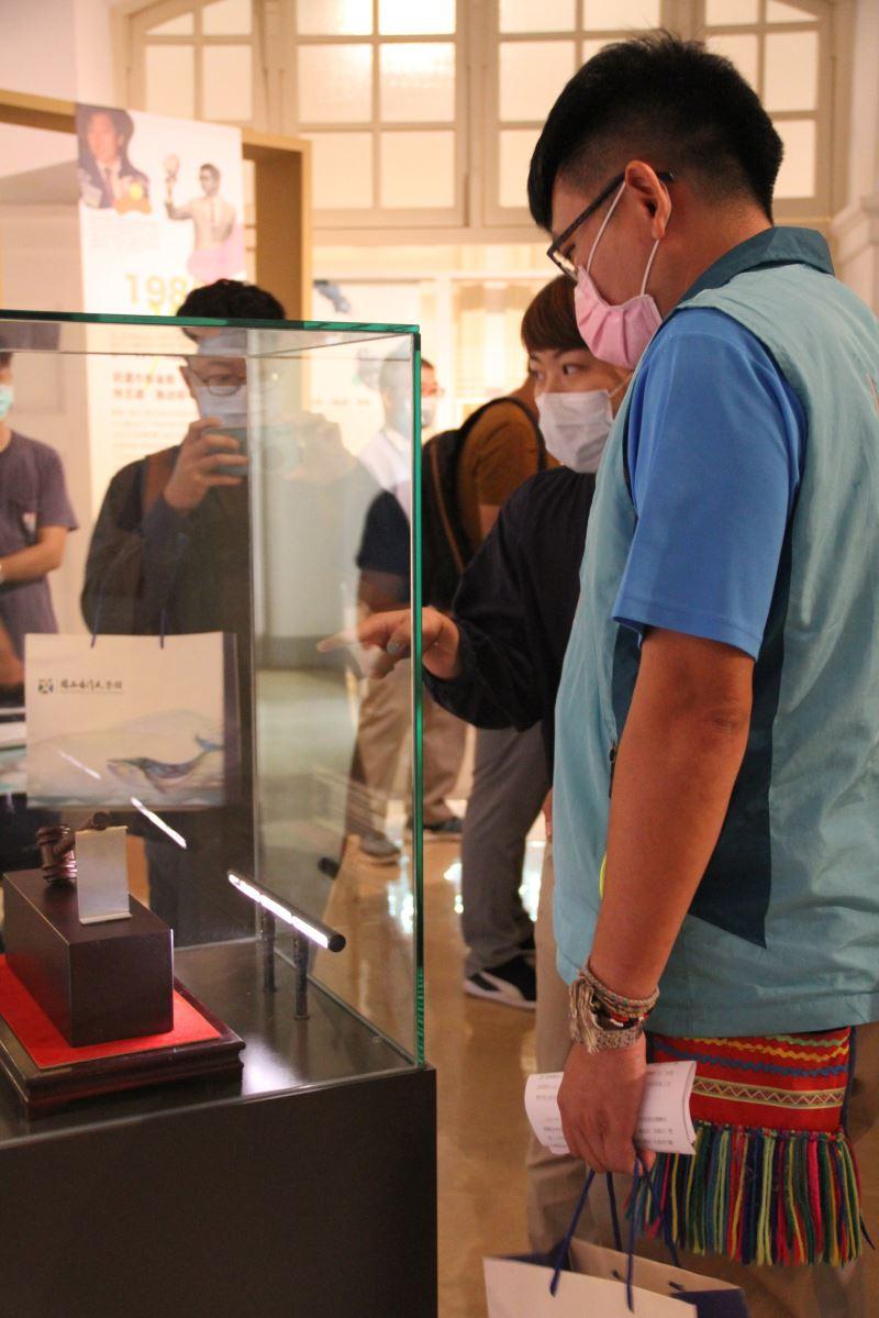 展覽讓觀眾回望臺南舊市府時光