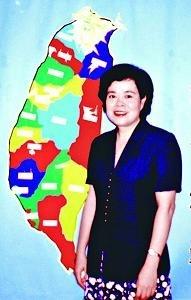 趙可式與臺灣地圖