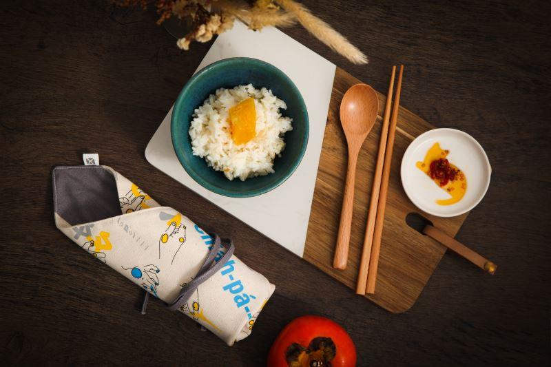 tsia̍h-pá--buē環保餐筷組 ●售價:新臺幣NT420元