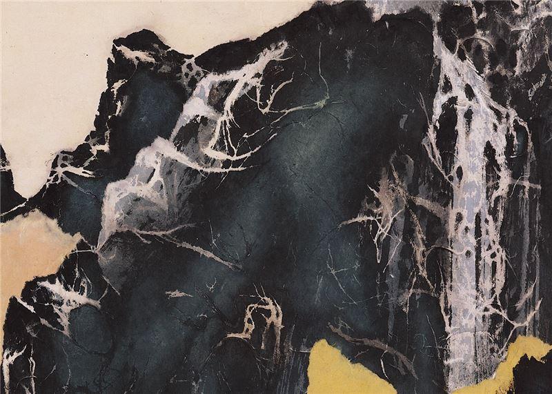 Liu Kuo-sung〈Landscape〉Detail