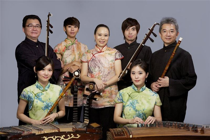 《傳統絲竹樂》演出照片(1992)。
