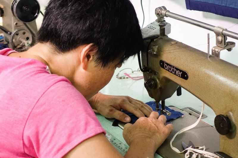 社區成立「樸藝工坊」,希望社區工藝產業可以朝向永續經營