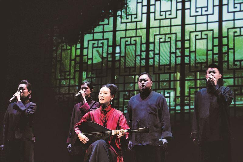 王心心與Voco Novo(爵諾人聲樂團)共同詮釋詩人余光中的《鄉愁》。