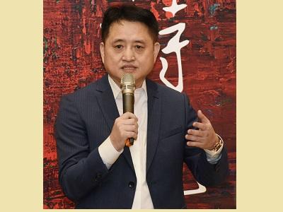 藝術家黃騰輝致謝詞。