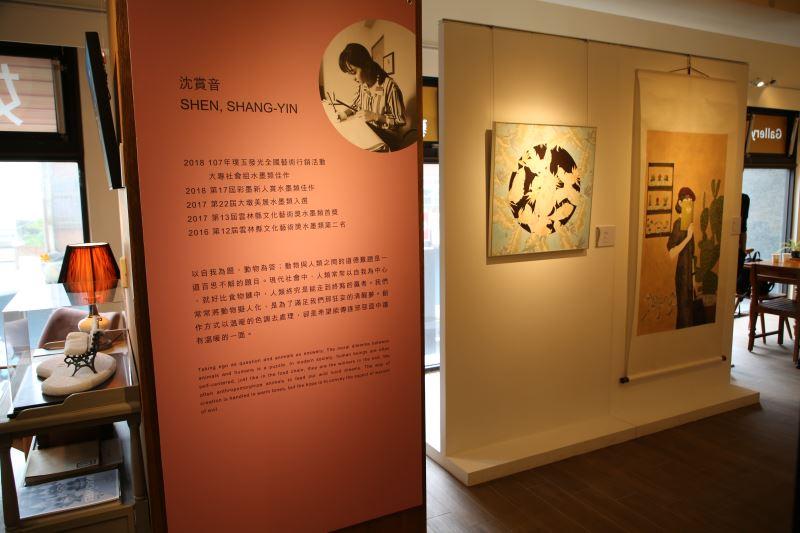藤藝廊展出情形 (2)