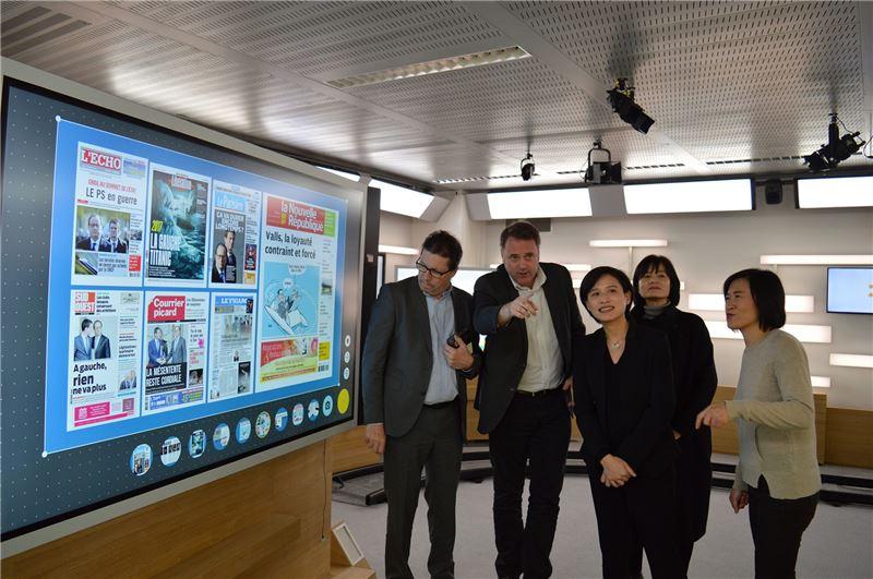 文化部安排此次拜會交流,以了解法國公共電視的經營現況及探詢未來雙方合作的可能性