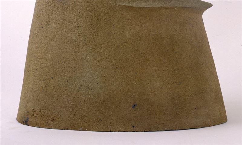 Yang Yuan-tai〈Work 1994-6 Rhythm of Mountain Pottery clay〉Detail