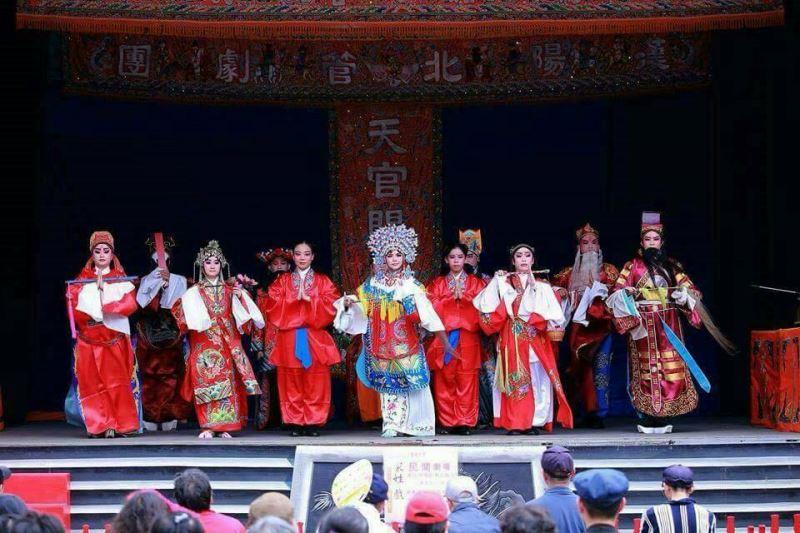 重要傳統表演藝術「北管戲曲」保存團體漢陽北管劇團演出