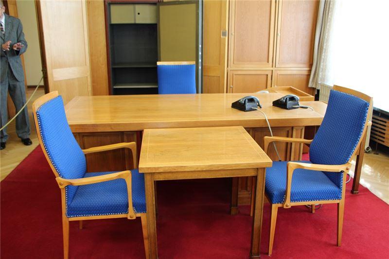 東德史塔西不義遺址保留東德情報機構最高主管的辦公廳舍原貌