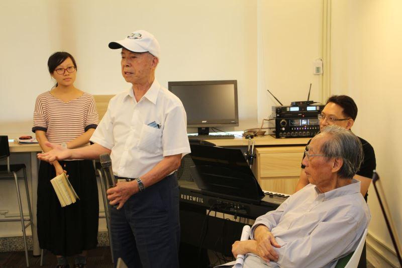 圖4_楊國宇前輩於綠島新生訓導處時曾參與康樂隊歌仔戲活動