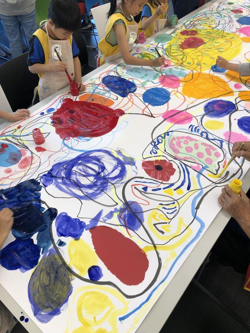 兒童美術教育領航中心新空間辦理文化平權活動