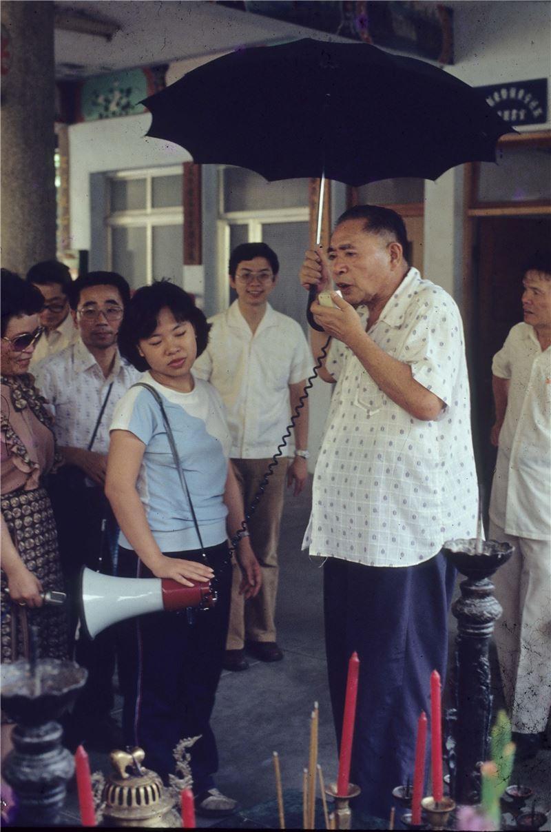 (圖3)林衡道教授(李乾朗攝影)