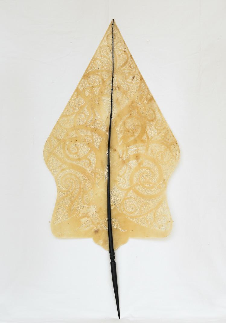 印尼皮影戲生命樹創作-源自馬來西亞原住民紋樣