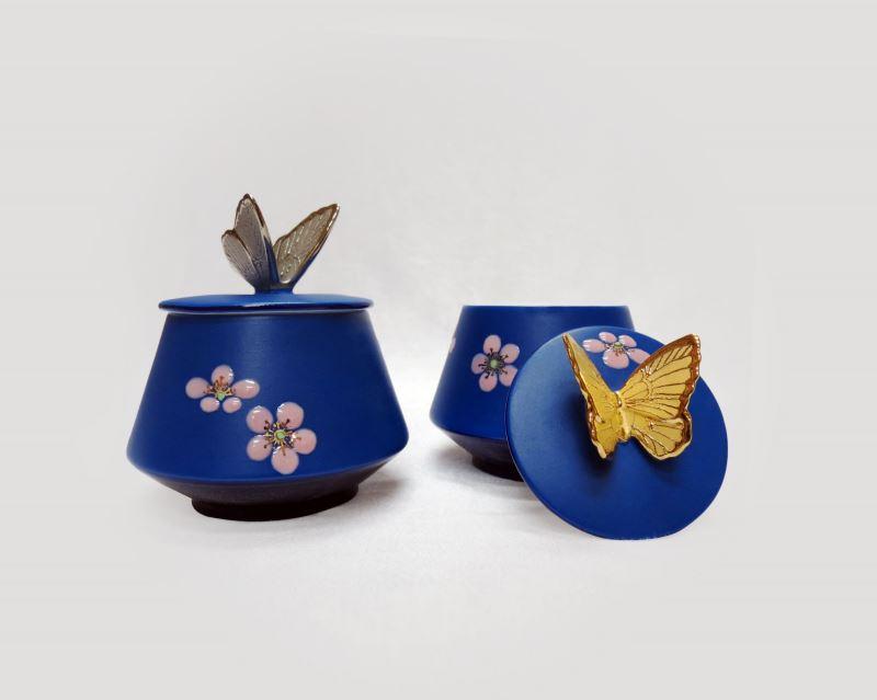 02.寶象Bao Xiang_福罐(茶罐) Lucky Butterfly Can