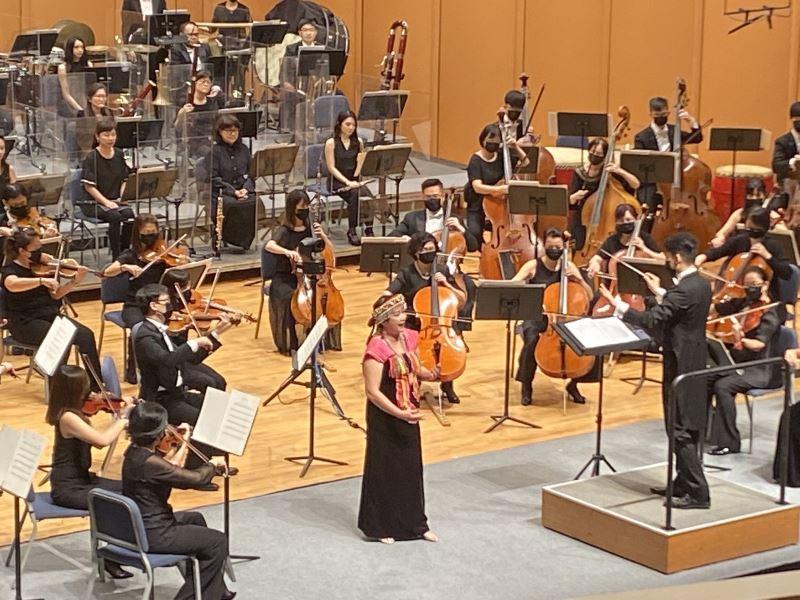 泰雅族聲樂家女高音林惠珍於「山谷的迴響」獻唱普契尼歌劇詠嘆調〈親愛的爸爸〉以及原住民歌謠《荷美雅亞》、《我懷念的朋友》等作品。