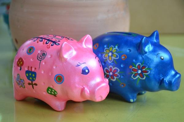 彩繪史前豬示意圖