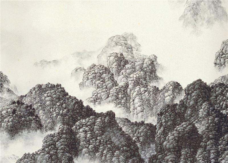 Hsia Yi-fu〈Peaks〉Detail