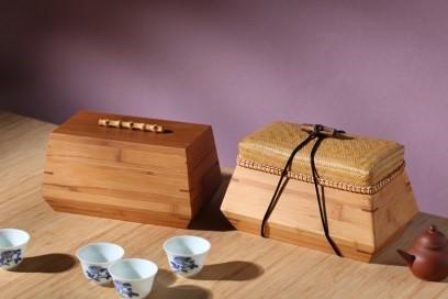 張守端作品「茶箱」圖